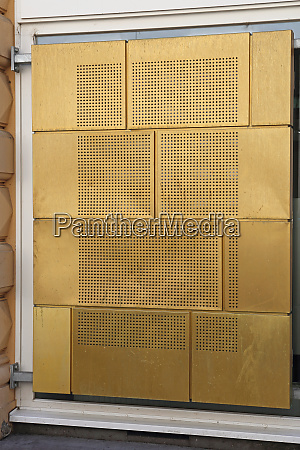 gold metal structure