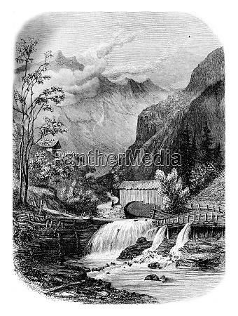valley between giettaz flumet and col
