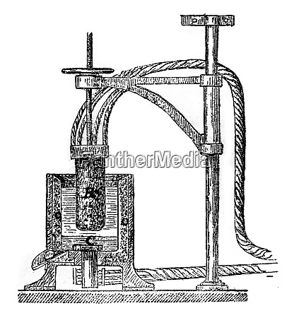 herault apparatus for the manufacture of