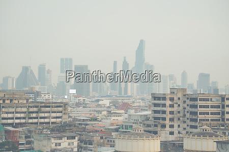 air pollution in bangkok city