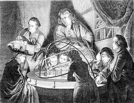first article vintage engraving