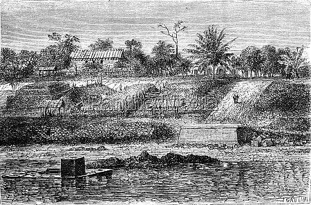 view counter of gabon in 1861