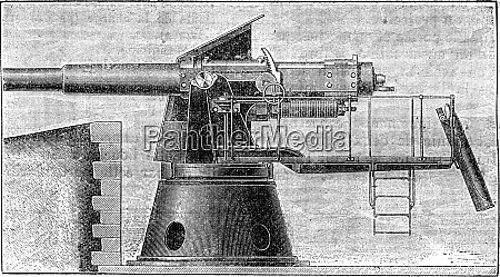 canon gun 6 inches for fortification