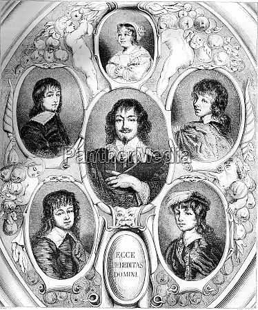 portraits of constantijn huygens and his
