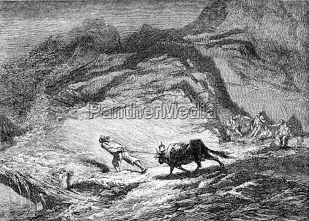 painting salon 1861 sea raiders guisseny