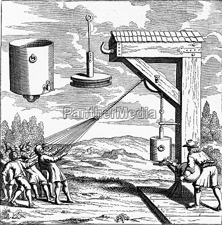 guericke experiments on the pressure of