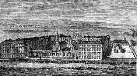 hospital of berck sur mer vintage