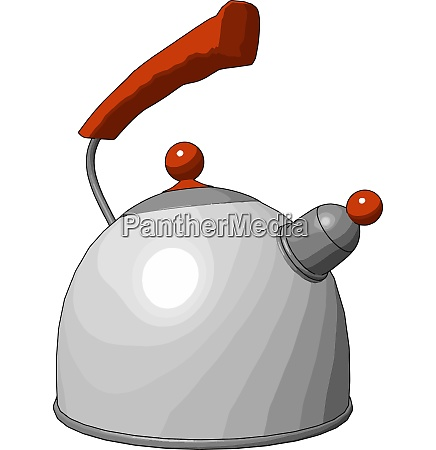 parts of kettle vector or color