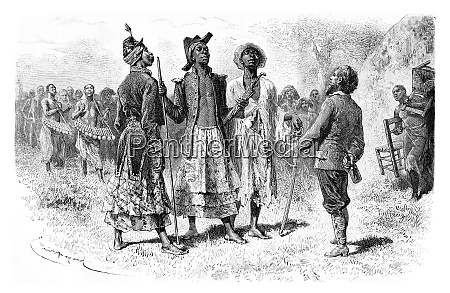 three princes of dombe in congo