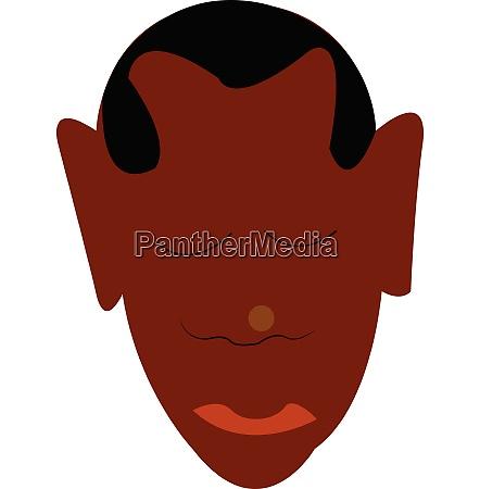 buzz hair cut vector or color