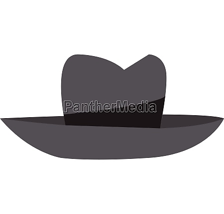 fedora vector or color illustration