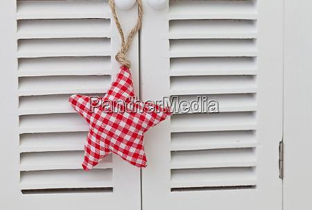 scandinavian style xmas star ornaments