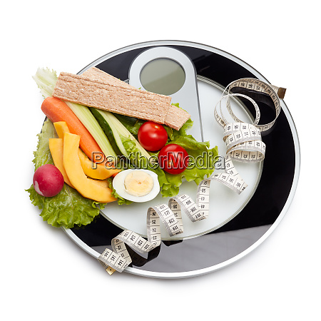 healthy food concept slimming