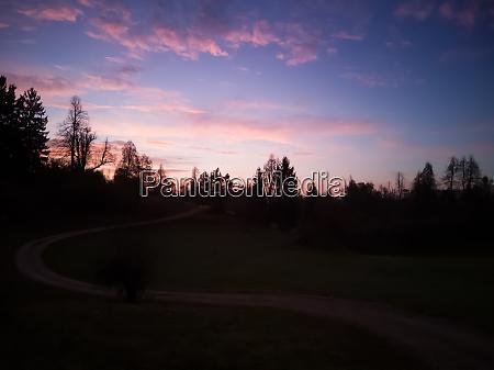 picturesque colorful sunrise