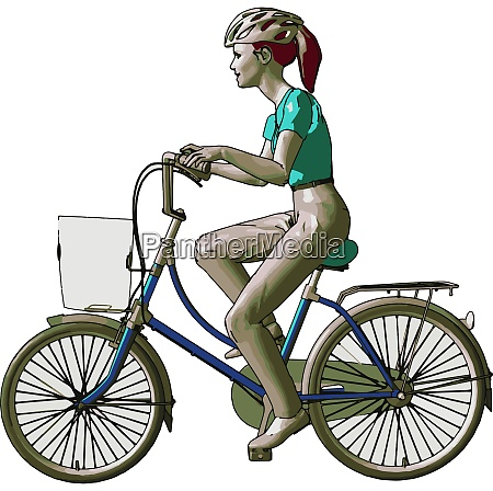 a lady rider stay healthy and