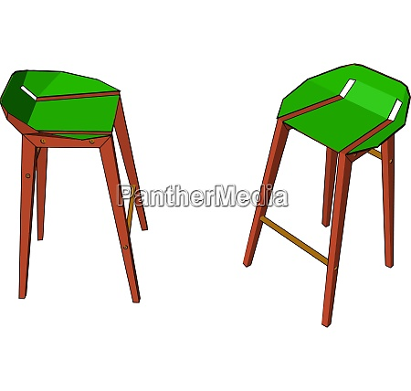 the sitting furniture vector or color
