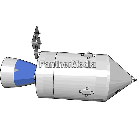 the space vehicle vector or color