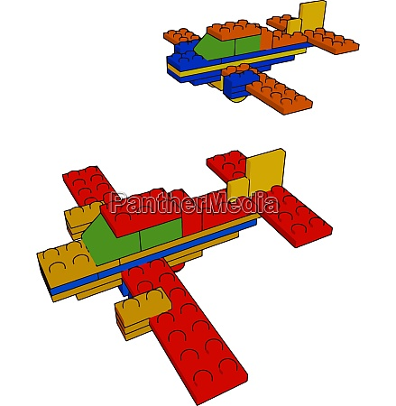 skill development with toys vector or