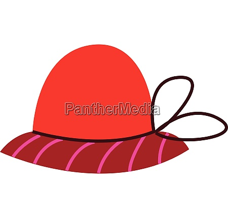 a hat vector or color illustration