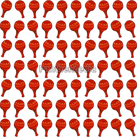 maracas wallpaper illustration vector on white