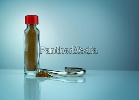 thai herbal powders snuff in transparent