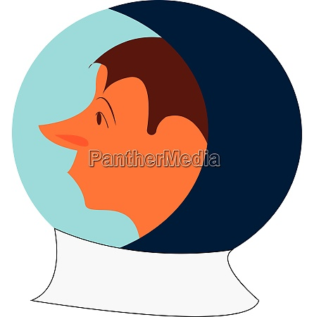 clipart of a cosmonaut ready to