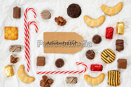 candy christmas collection label adventszeit means