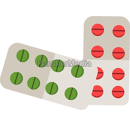 various tablets and capsules to cure
