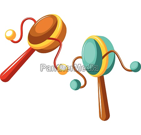 drums for celebrations vector on white