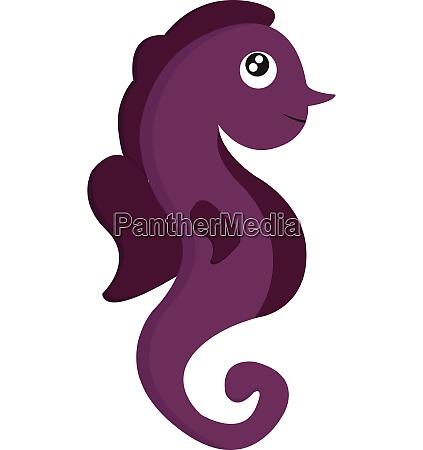 clipart of a cute little purple