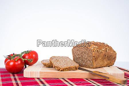 vesper bread gets sliced