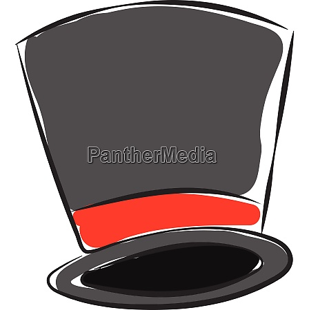 magicians hat vector or color illustration