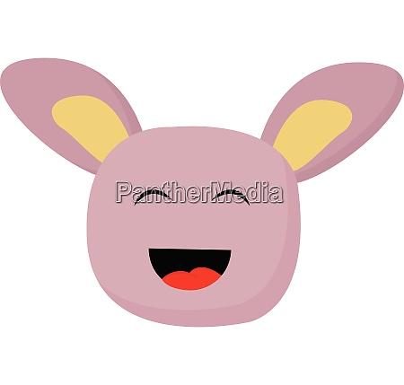 monster with big ears vector or