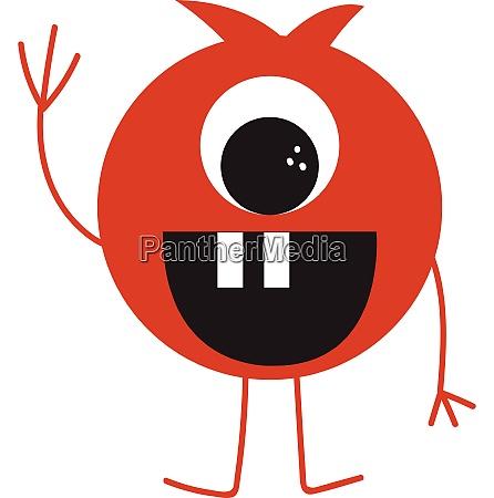 funny, monster, vector, or, color, illustration - 27502190