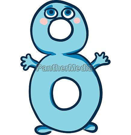 emoji happy number 8 or eight