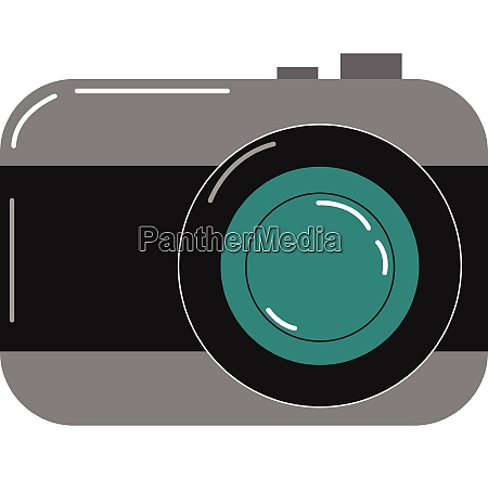 painting of a camera vector or