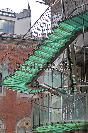 external staircase