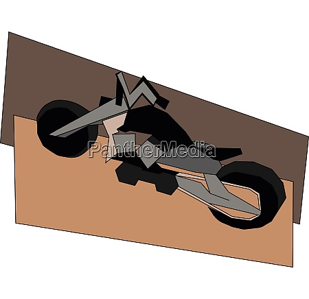 clipart of a motorbike vector or