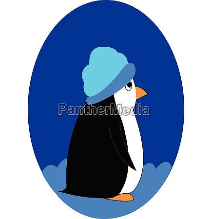 cartoon picture of a cute penguin