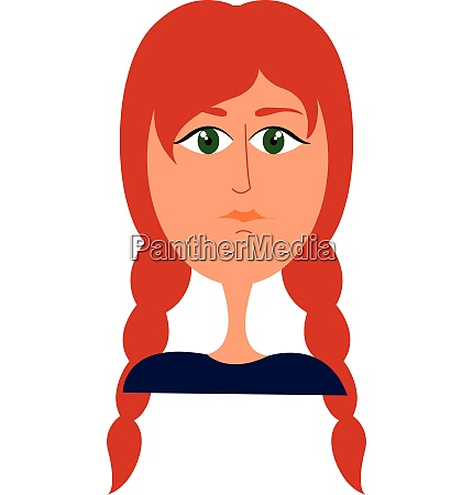 clipart of a beautiful girl with
