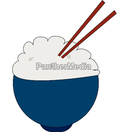 clipart of a bowl of rice