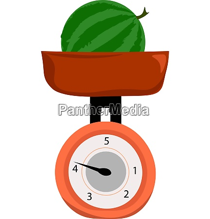 clipart of a whole watermelon weighed