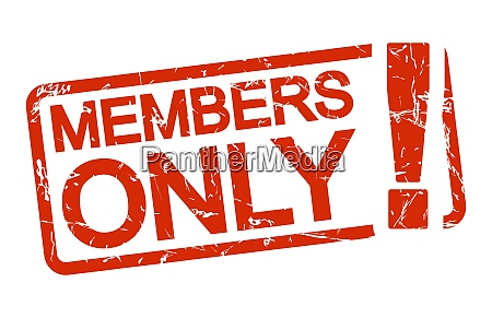 red stamp members only