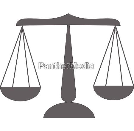 cartoon image of a grey libra