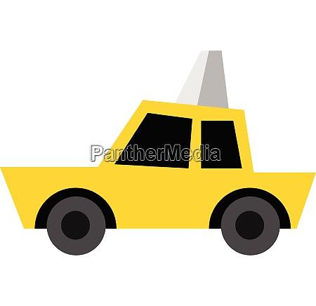taxi hand drawn design illustration vector