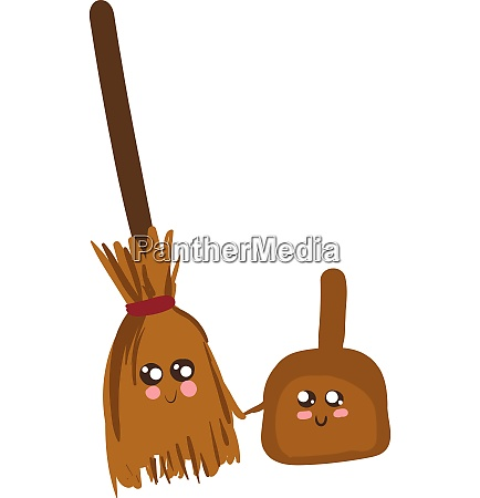 emoji of a happy broomstick and