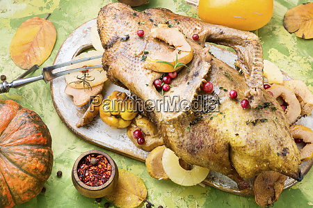 whole baked duck