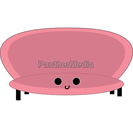 emoji of the big pink chair