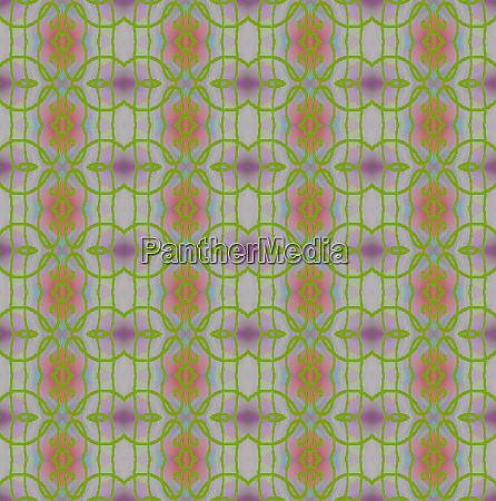 regular circles and diamond pattern bright