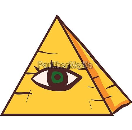 clipart of a human green eye